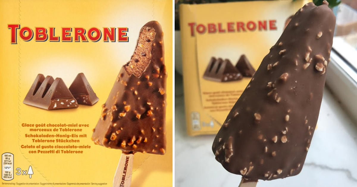 Toblerone Ice Cream Stick Exists And It Sounds Dreamy