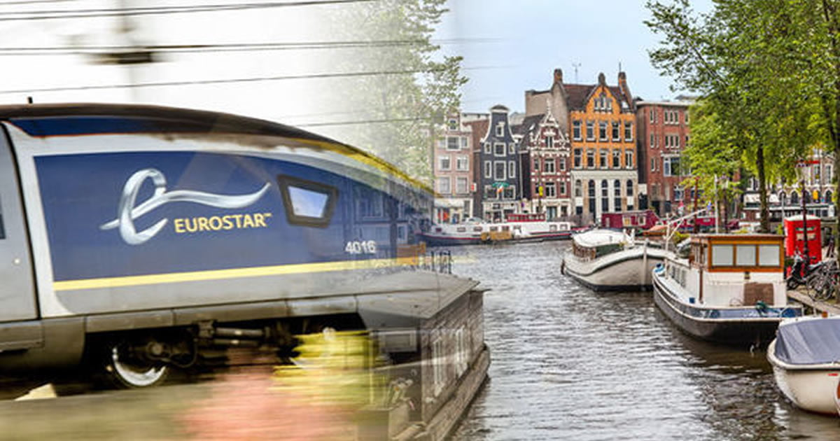 Eurostar Launches A Direct London To Amsterdam Route And It Costs $49
