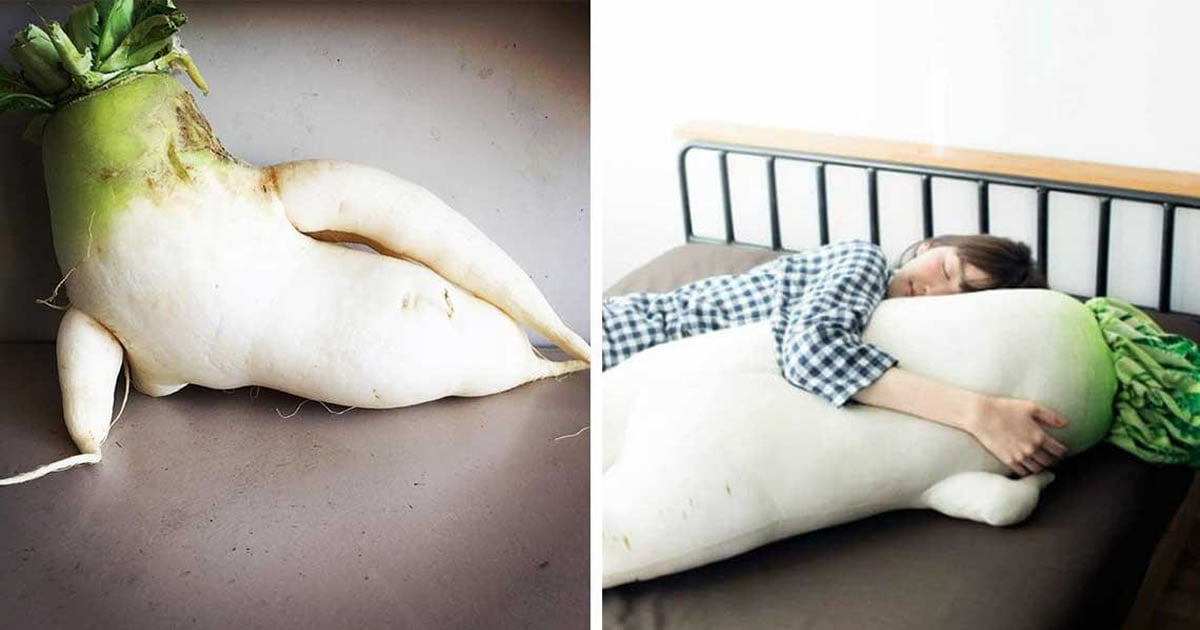 """Japan's """"Sexy Daikon Radish"""" Goes Viral And You Can Even Buy A Sexy Radish Cuddle Doll Now"""