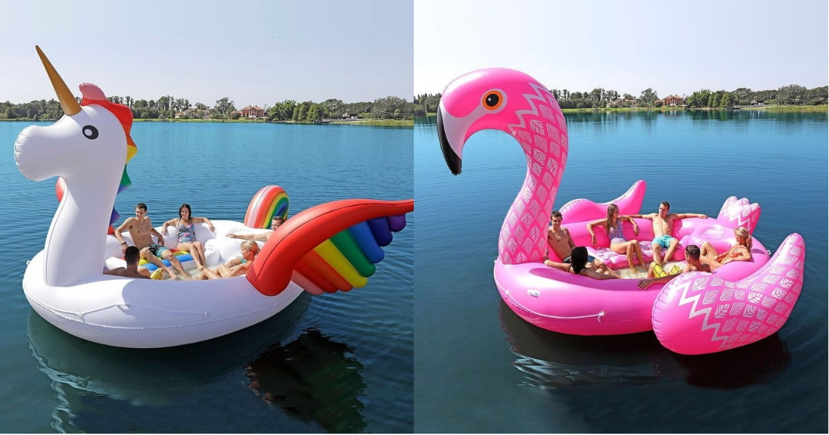 This Giant Unicorn Pool Float Can Fit 6 People Now Get