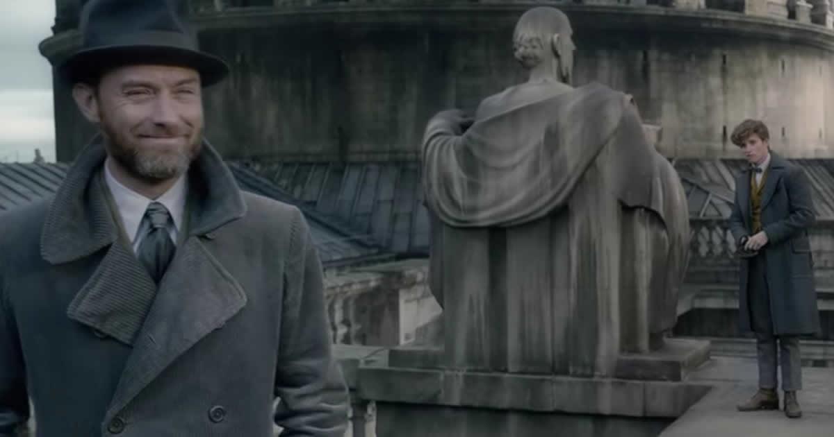 """Fantastic Beasts: The Crimes of Grindelwald"" Drops First Teaser"