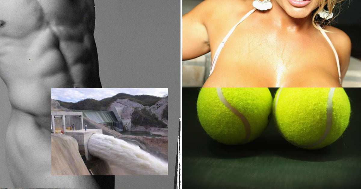 This Artist Challenges Censorship On Social Networks With Suggestive Collages