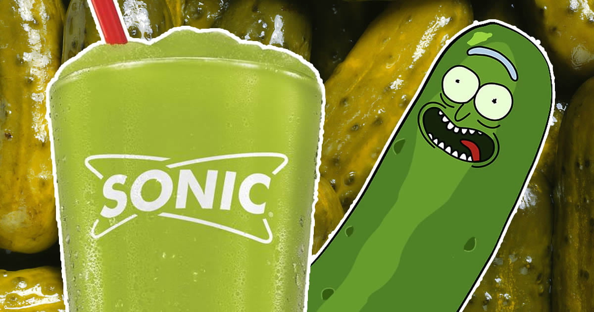 Pickle Juice Slushies Are Coming This Summer