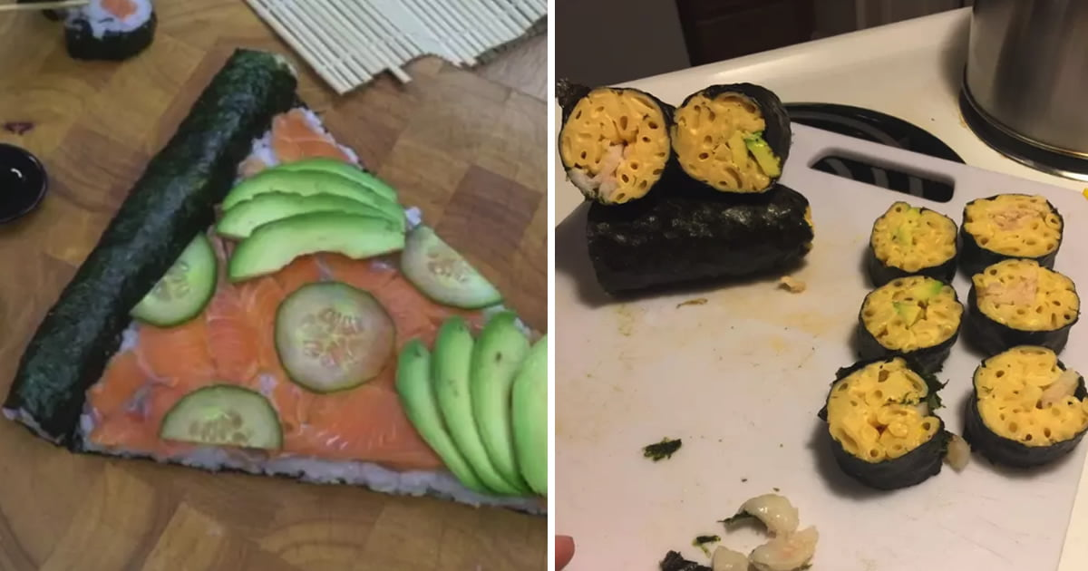 21 Unforgivable Sushi Dishes That Will Curb Your Appetite