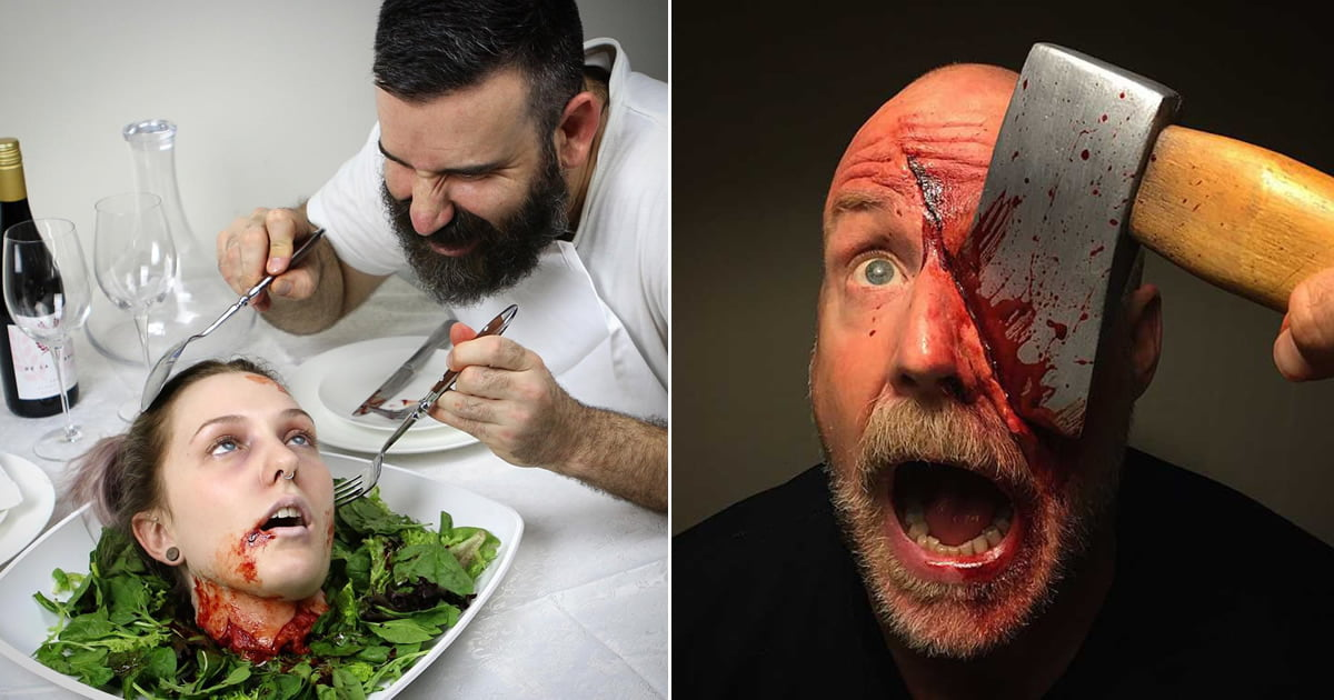 [Graphic] The Way Too Realistic SFX Makeup Creations By Marc Clancy