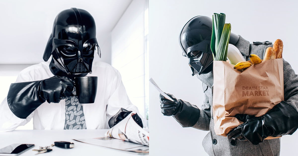 Behind The Scene Life Of Darth Vader And His Stormtroopers