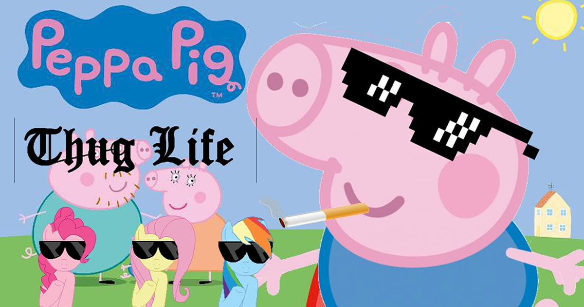 Peppa Pig Memes Are Banned In Video App For Promoting Gangster