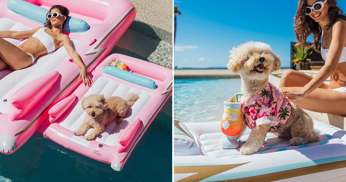 These Matching Dog And Hooman Pool Floats Are Just Pawsome