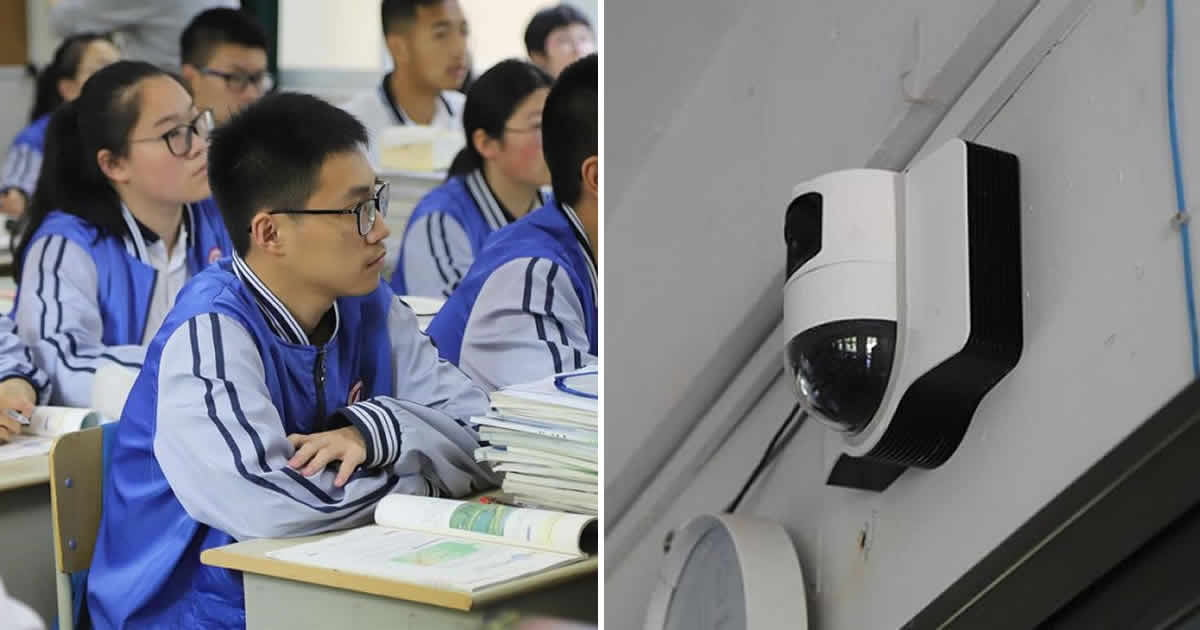 Chinese School Uses Facial Recognition To Make Kids Pay Attention