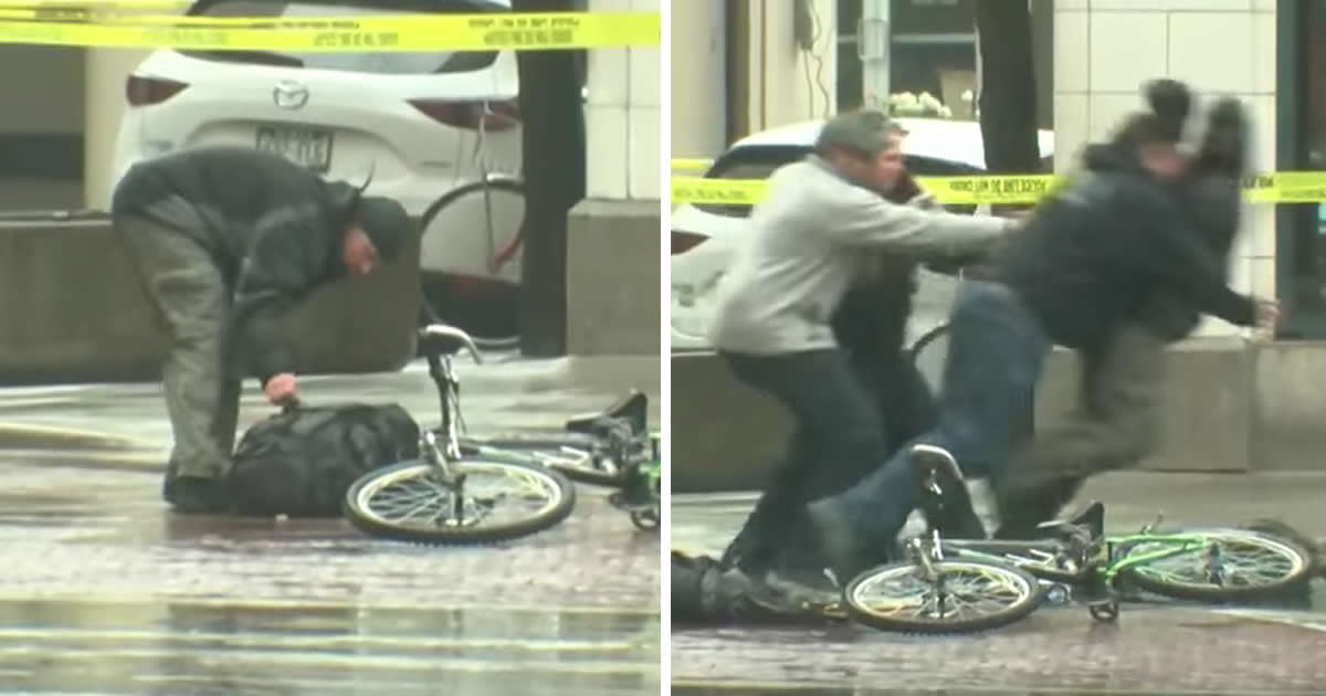 Cyclist Fed Up With Waiting For Bomb Squad Empties Suspicious Backpack Himself