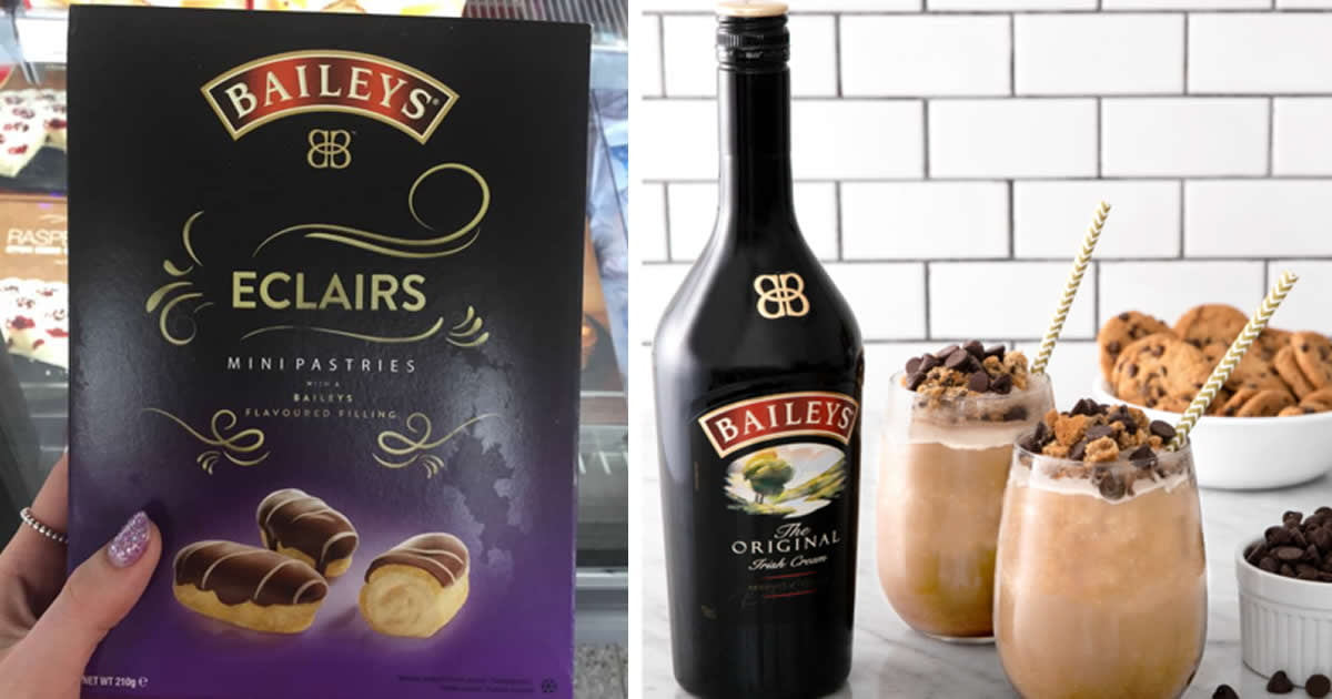 Iceland Is Selling These Delicious Mini Baileys Eclairs For Just $3
