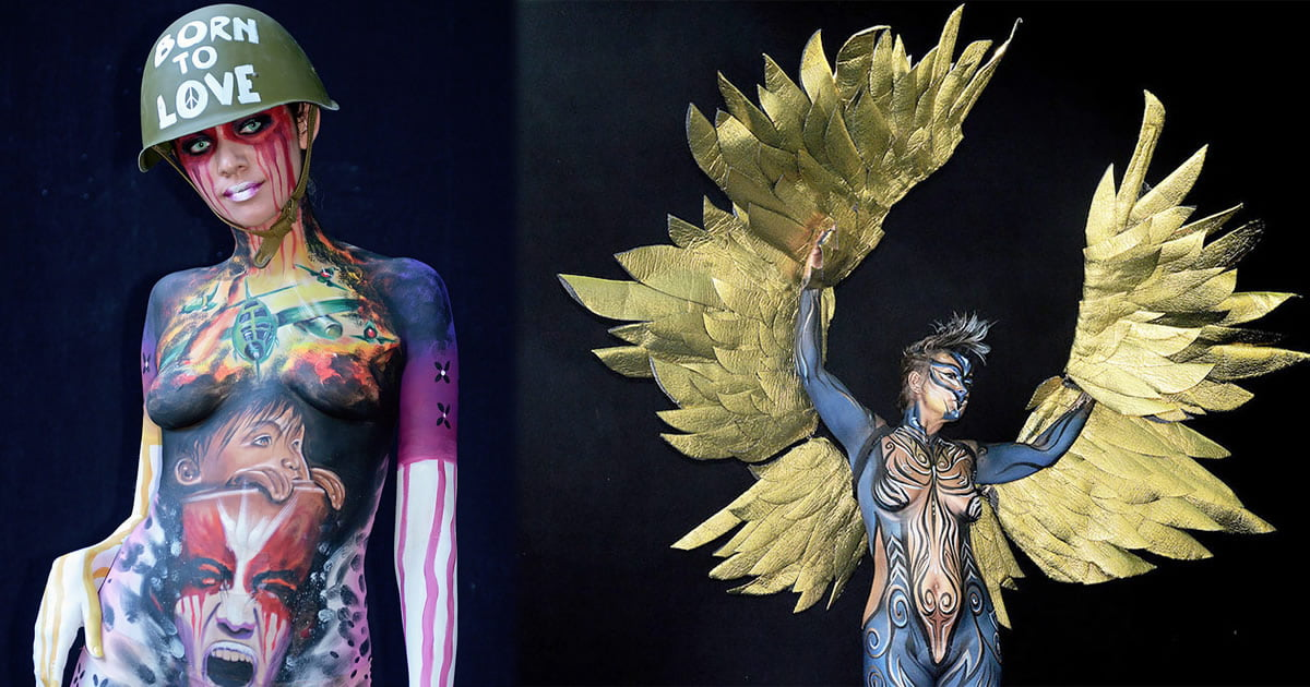 Spectacular Body Artworks From The World Bodypainting Festival 2018 In Austria