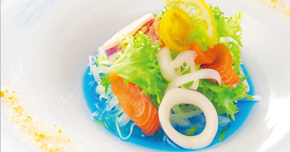 Bright Blue Salad Dressing Is Here For You To Make Your Food Islands