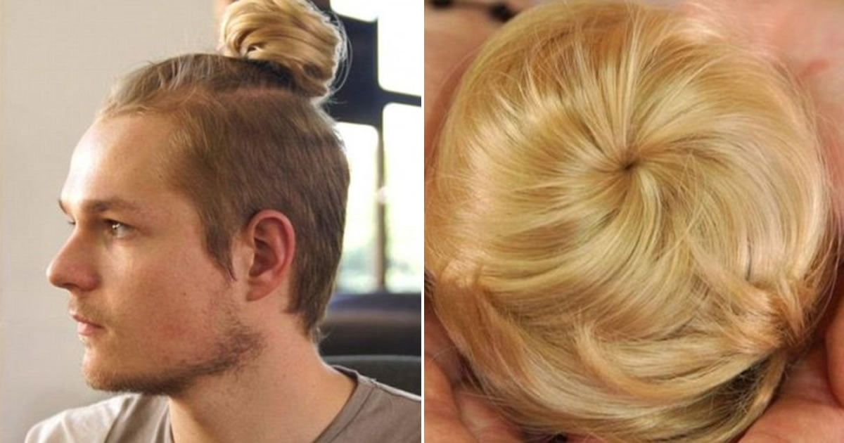 Clip-On Man Buns Exists For Those Who Can't Grow A Ponytail