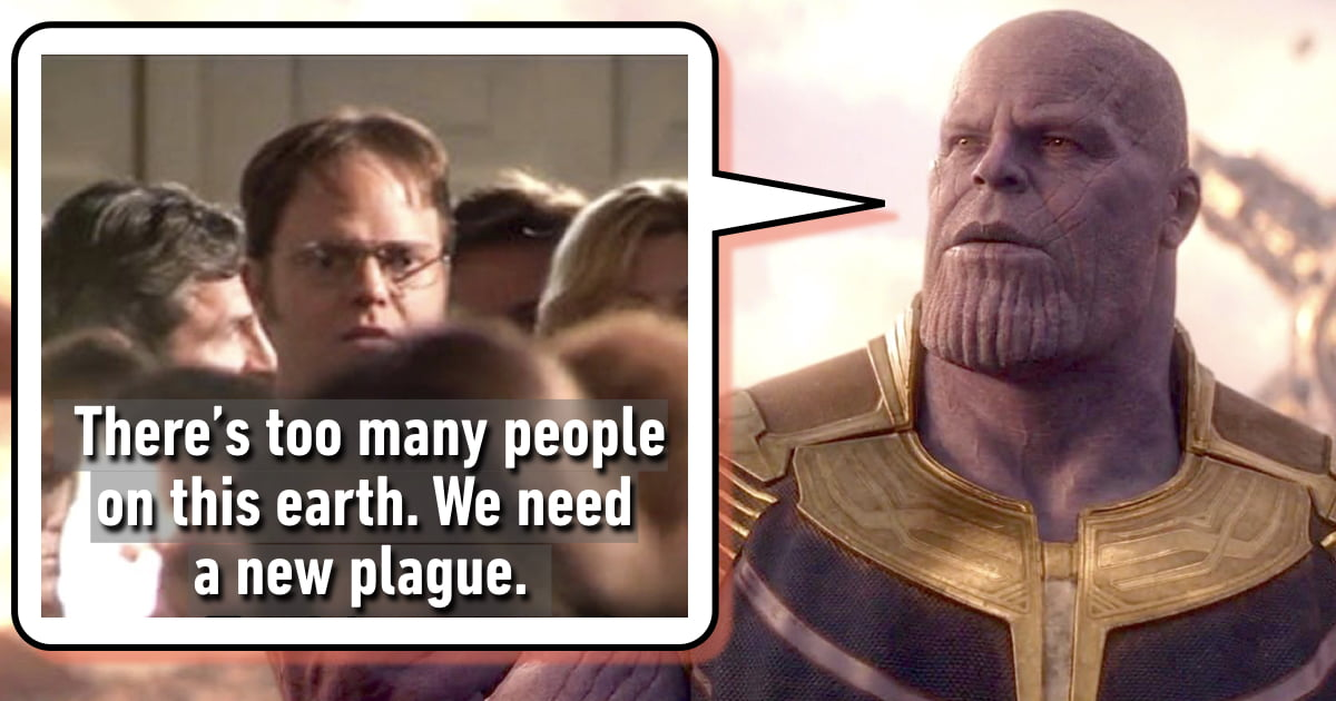 """20 Marvel Characters, Each Summed Up By One """"The Office"""" Quote"""