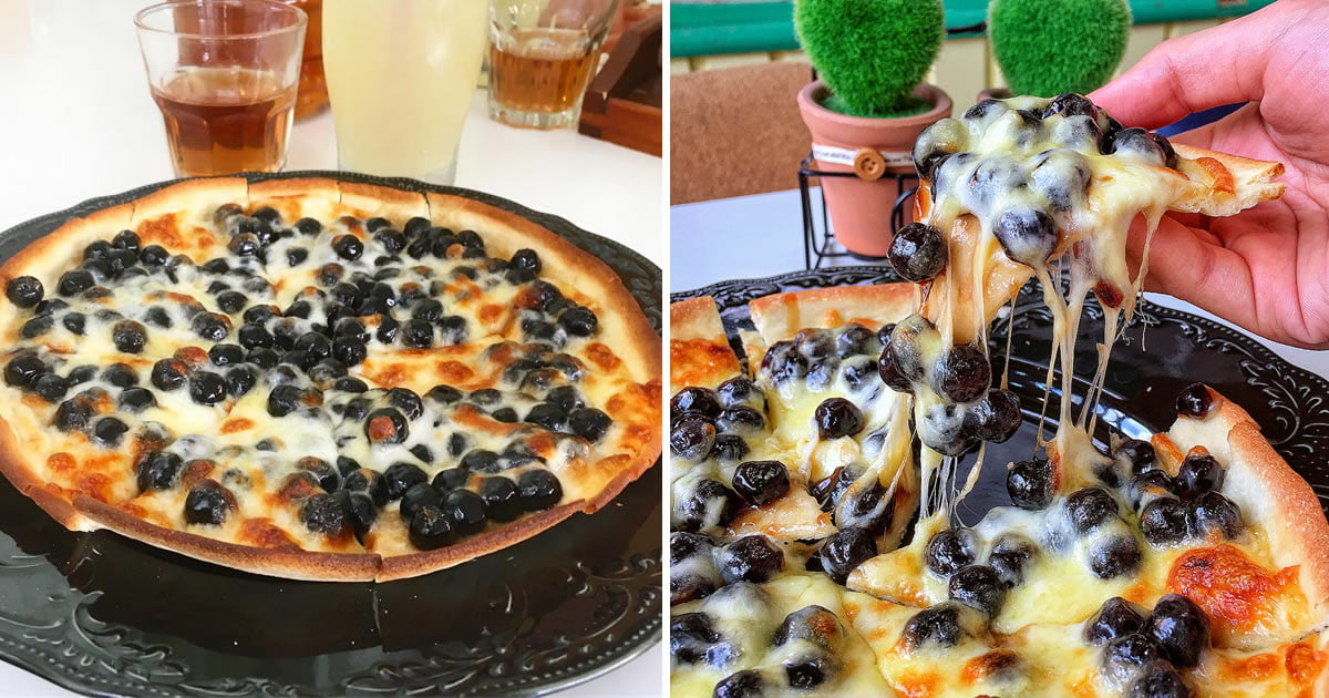 Boba Pizza Is The Newest Food Craze That Will Leave You Disgusted But Curious