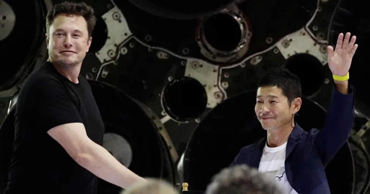 Japanese Billionaire Yusaku Maezawa Will Be SpaceX's First Tourist To The Moon