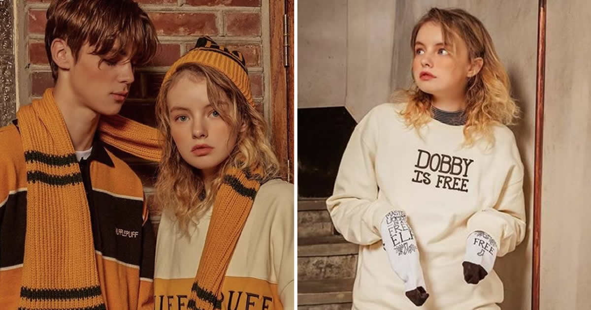 Korean Brand Launches Harry Potter Fashion Items For Wizards