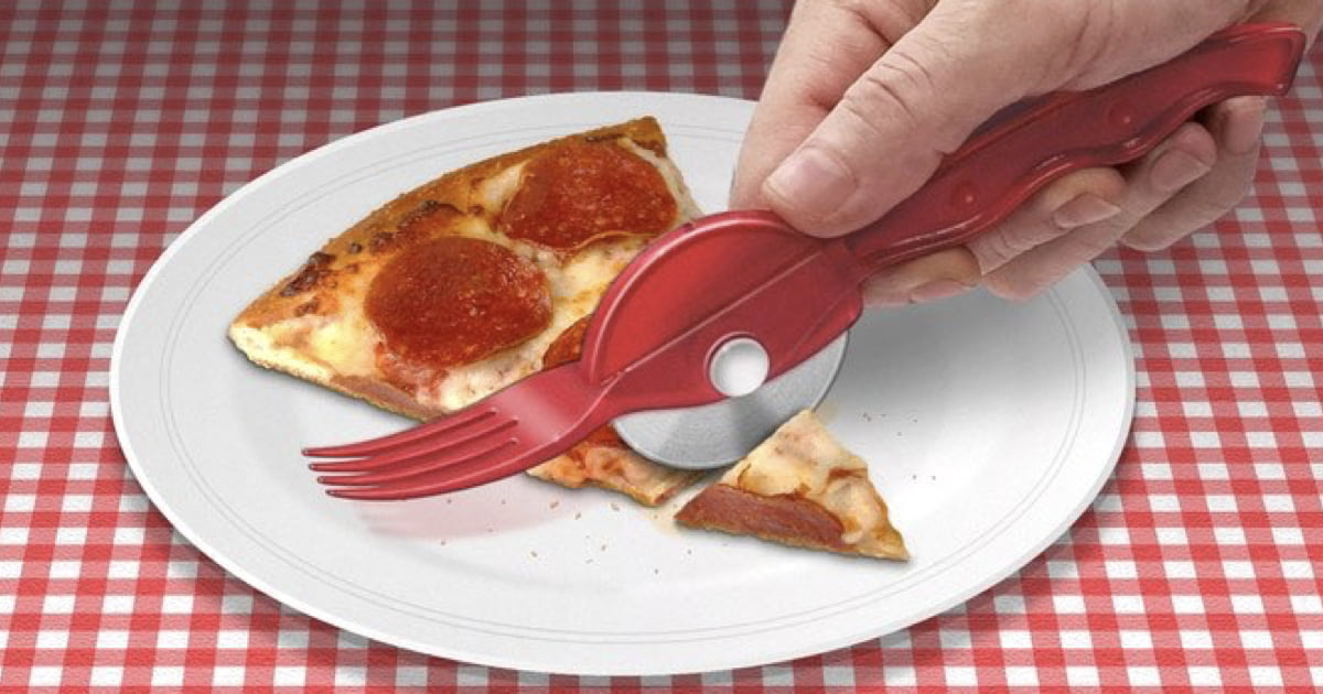 The 'Pizza Fork' Now Exists And Is Available On Kickstarter