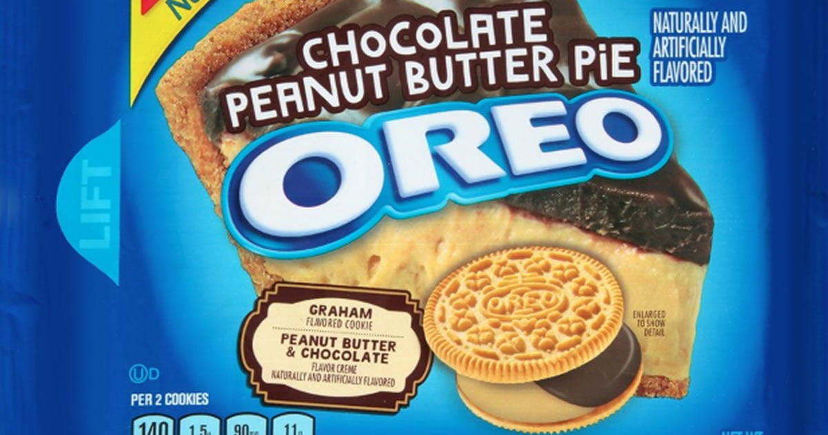 Chocolate Peanut Butter Pie Oreos Have Now Hit The Shelves