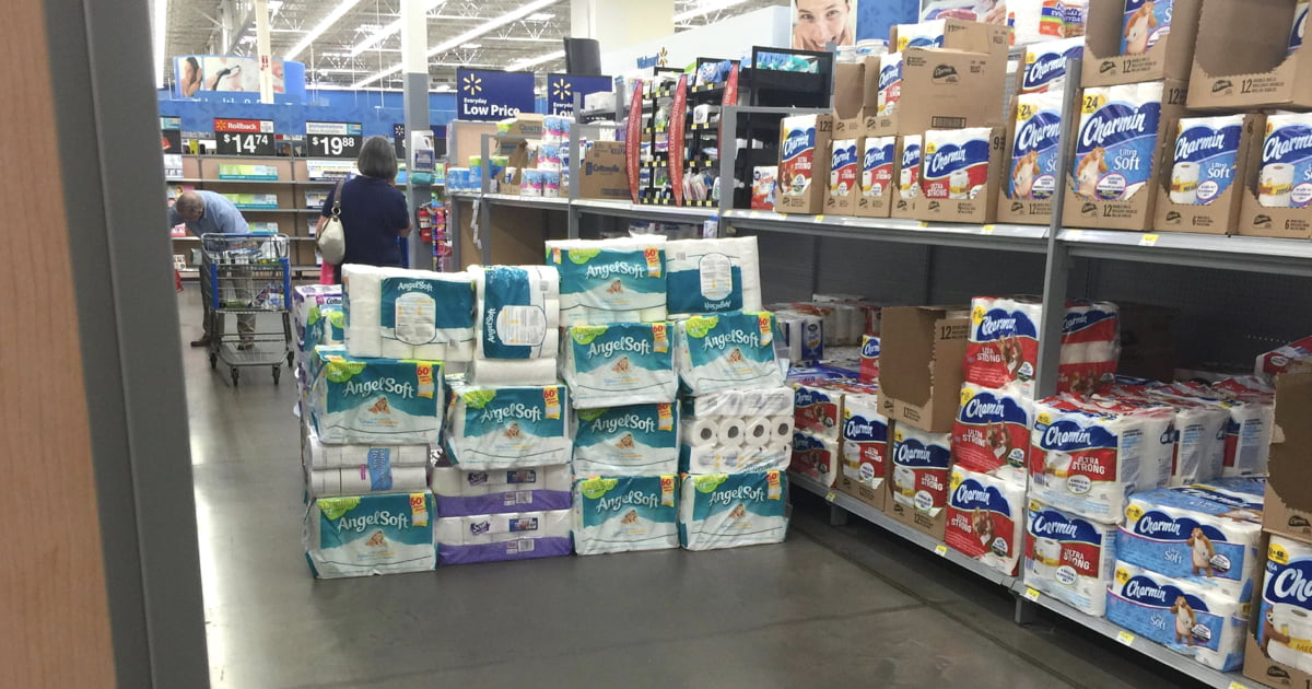 Teens Built Toilet Paper Fort In Store, Hid Inside And Slept Overnight