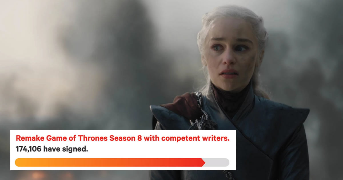 Game of Thrones Fans Are Petitioning HBO to Remake Season 8