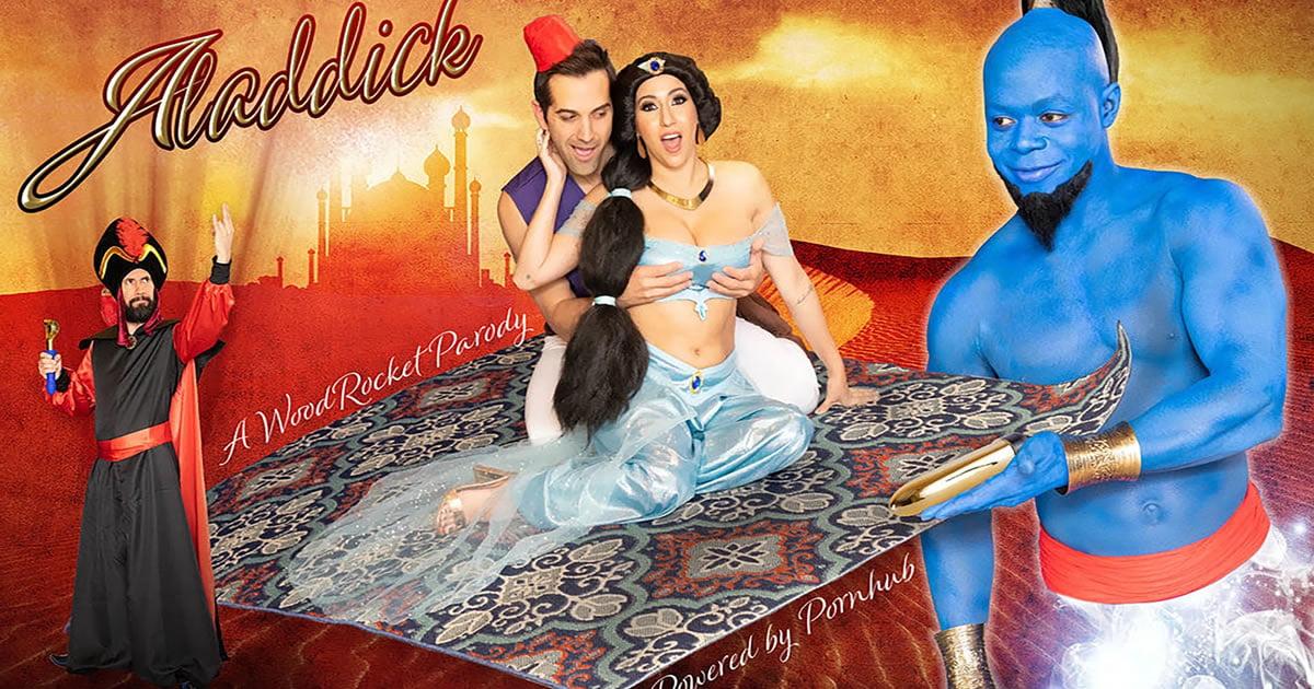 Aladdin Gets A Timely Porn Parody 'Aladdick'