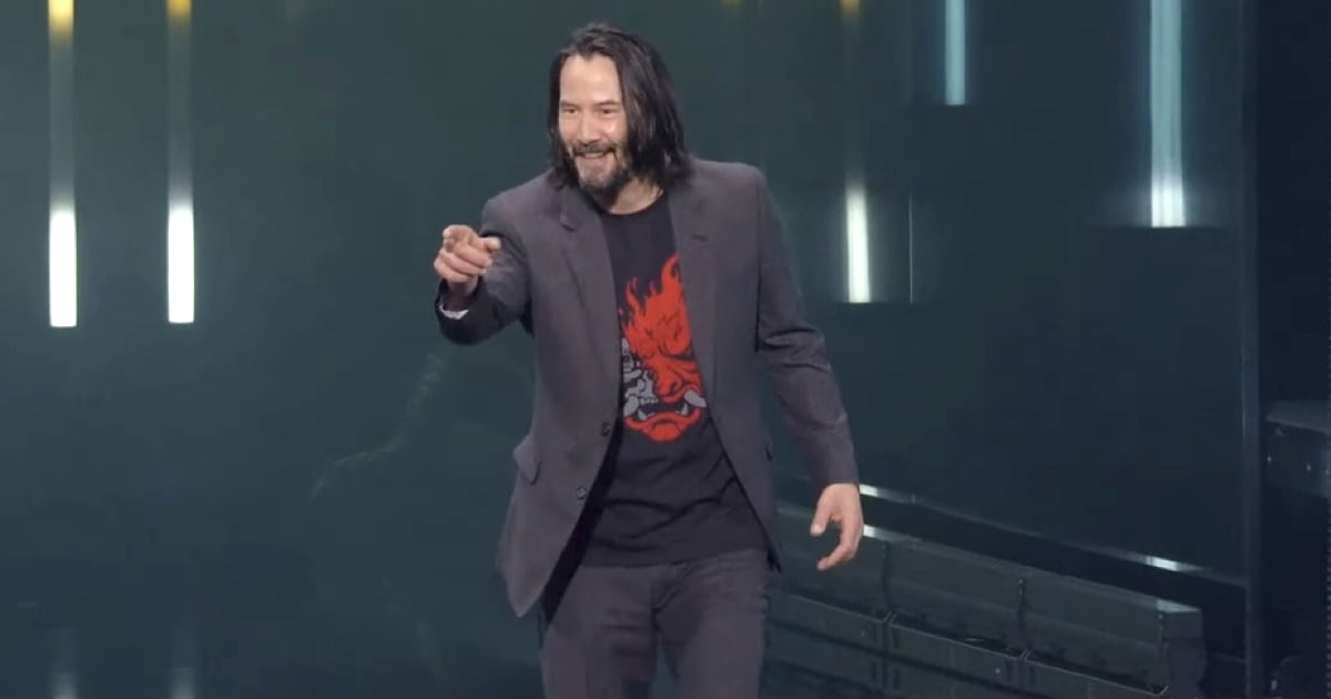 "Guy Who Shouted ""You're Breathtaking"" At Keanu Reeves Will Get A Free 'Cyberpunk 2077' Copy"