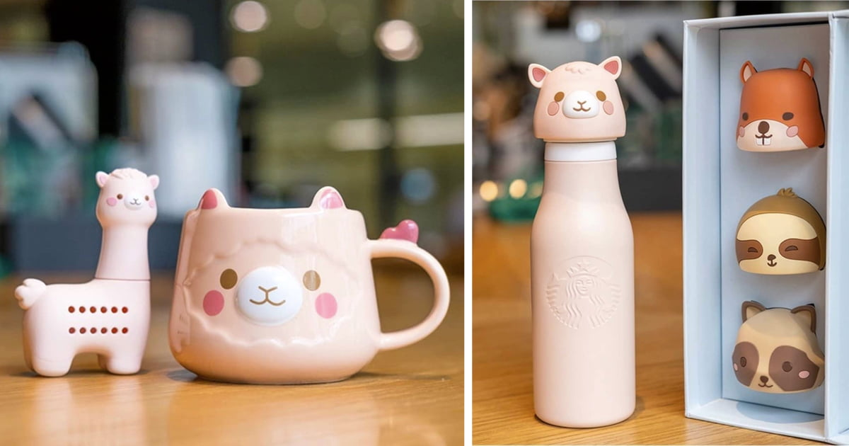 This Animal-Themed Merch From Starbucks Is Too Cute To Handle