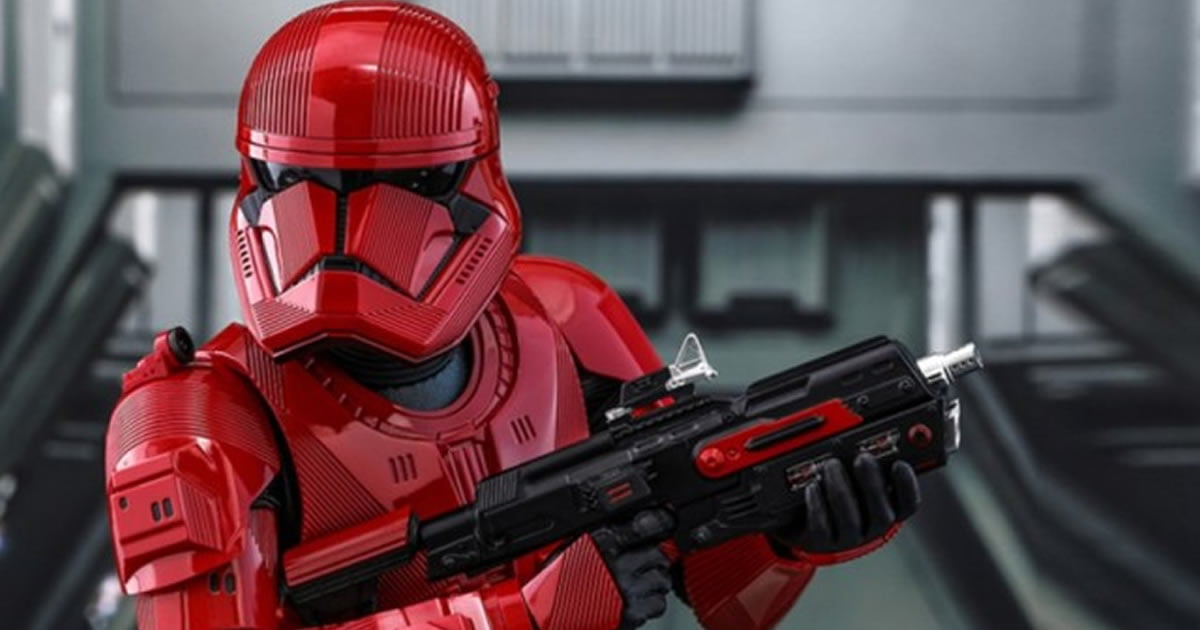 Star Wars Reveals First Look At Sith Trooper For 'The Rise Of Skywalker'