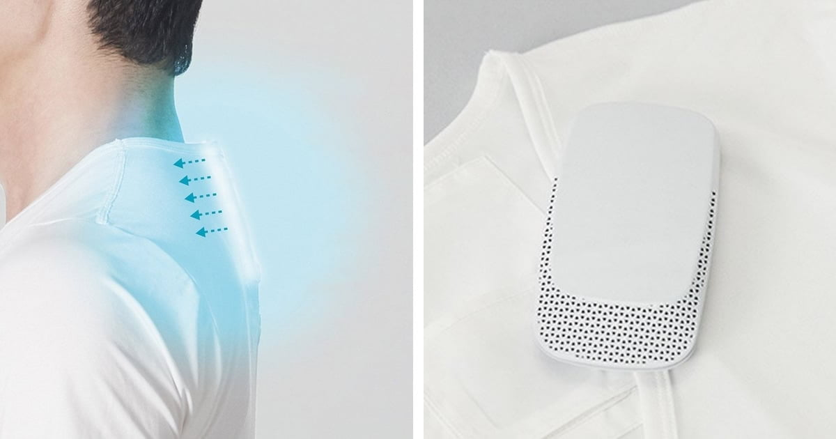 Sony Develops Wearable Air Conditioner to Keep You Cool