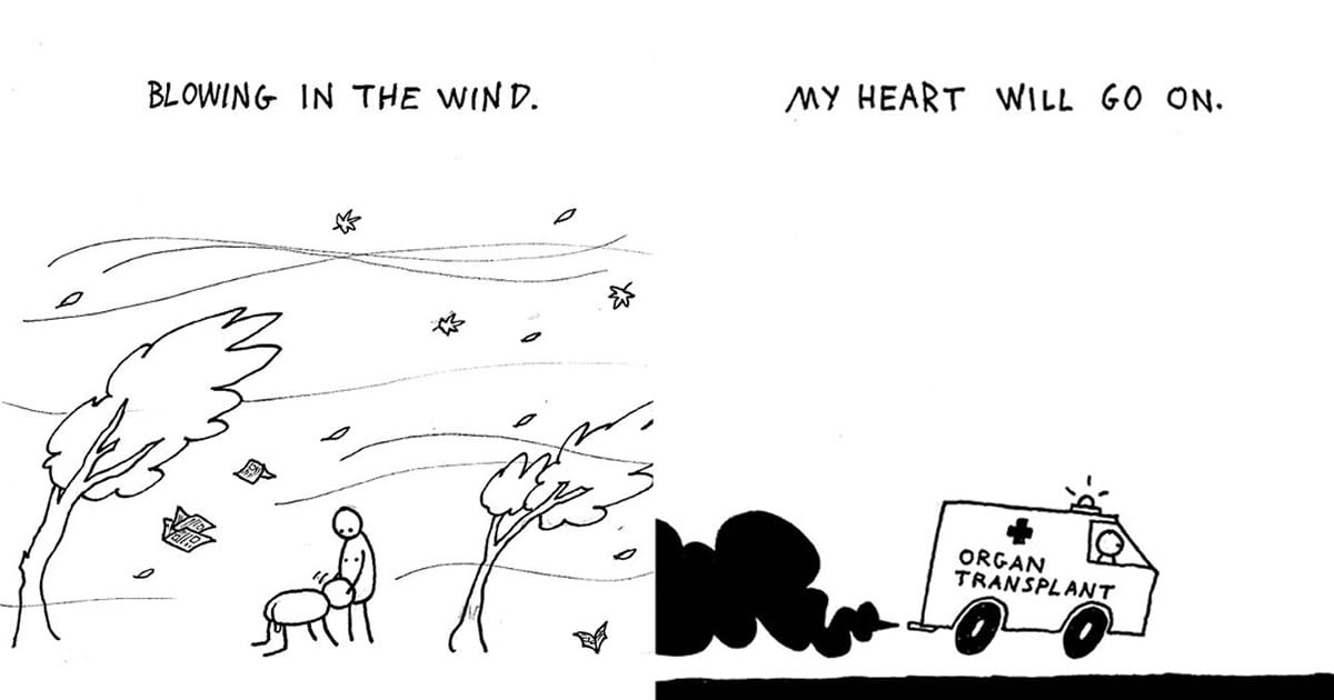 Famous Songs Explained With Simple Comics