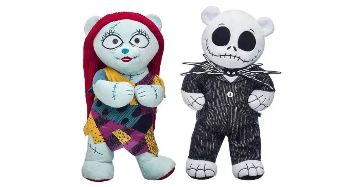 Build-A-Bear Just Dropped A Nightmare Before Christmas Collection