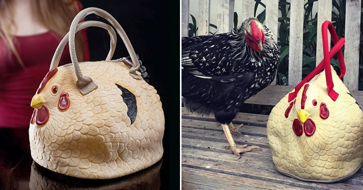 Who Needs Luxury Purses When This Chicken Purse Exists