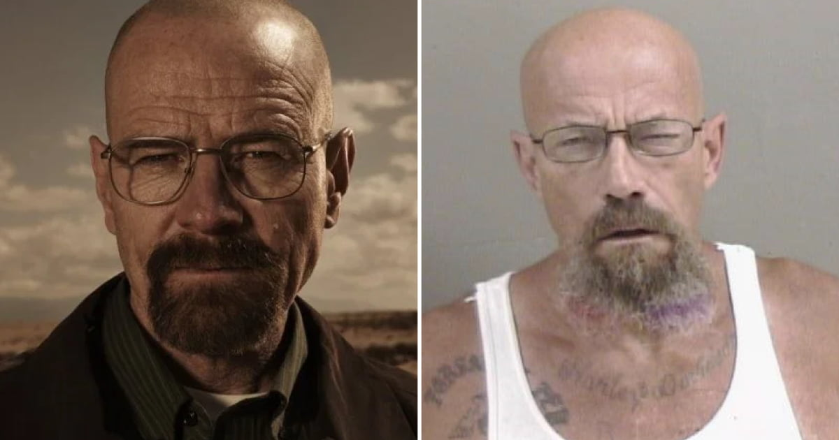 US Police Seek Walter White Lookalike On Meth Charges