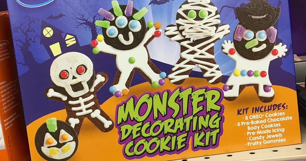 Oreo Is Selling Monster Decorating Cookie Kits For Halloween