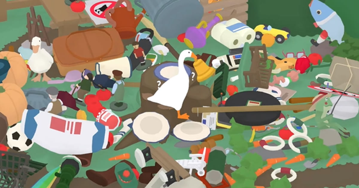 Untitled Goose Game Player Steals Every Last Thing And Drops It All Down A Hole