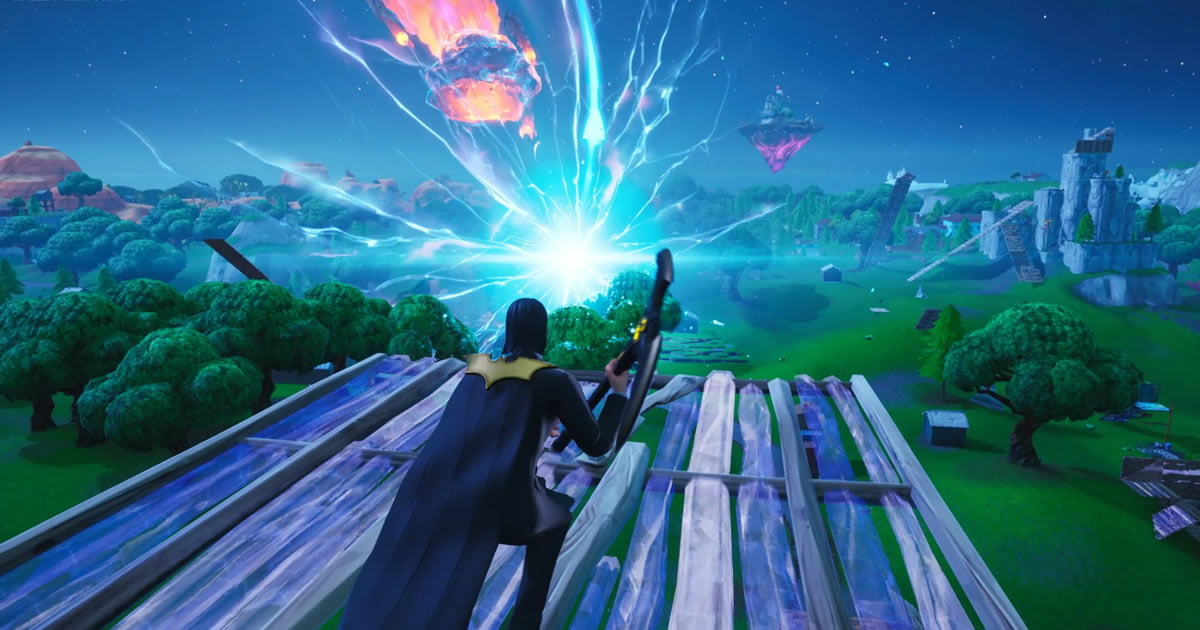 Fortnite Just Blew Up The Map And The Entire Game Is Now Just A Black Hole