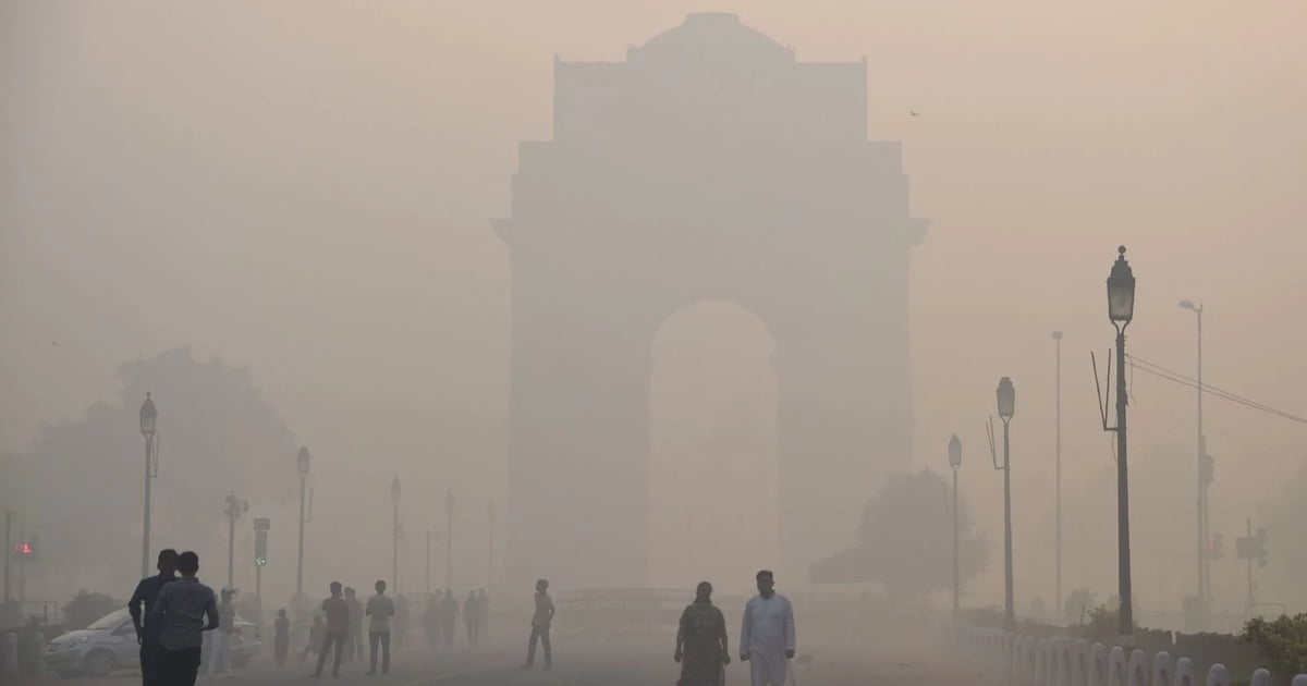 Delhi Air Quality Improves From
