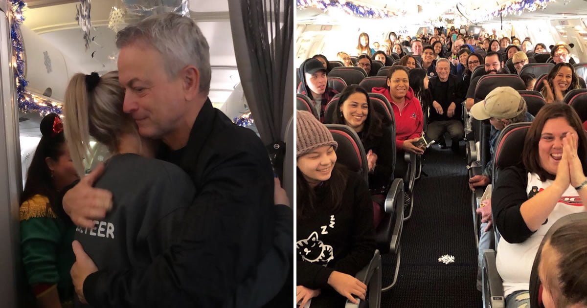 Actor Gary Sinise Treats 1,000 Children Of Fallen Soldiers To Disney Trip