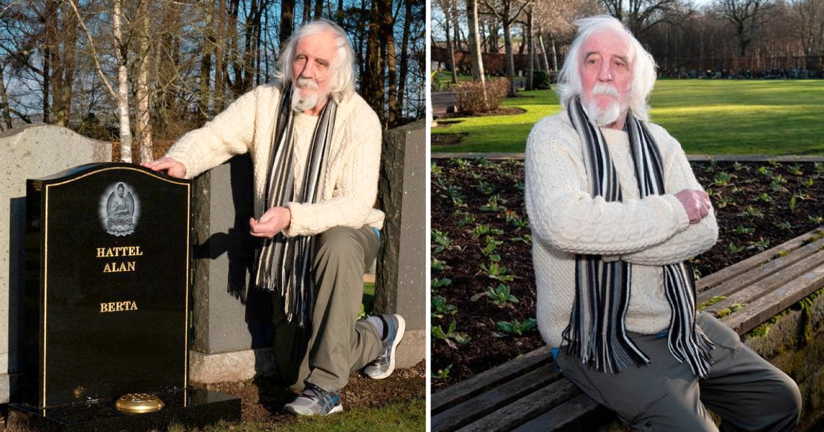 Man Shocked To Find His Own Gravestone In Cemetery, Says His Ex-Wife Put It There
