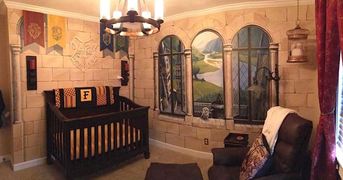 Potterhead Parents Create 'Harry Potter' Nursery For Their Baby