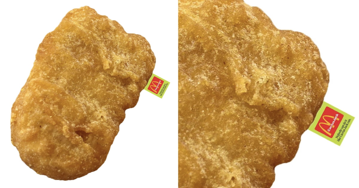 McDonald's Launches Massive And Hyper-Realistic Nugget Pillows
