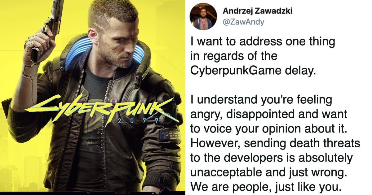'Cyberpunk 2077' Developers Receive Death Threats Over Game Delay
