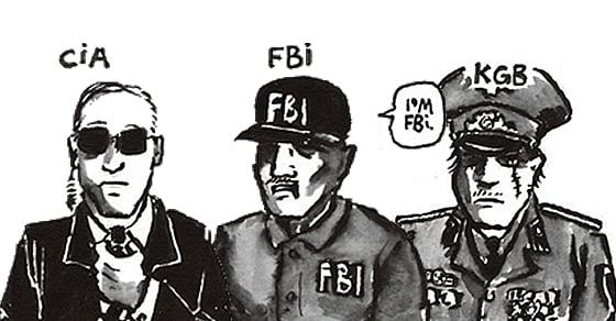 Cia Vs Fbi