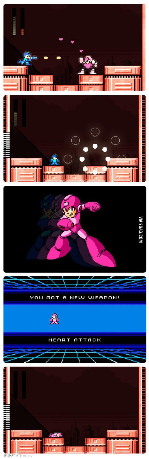 Mega Man - You got a new weapon!