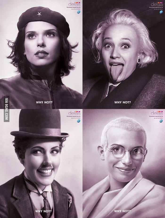 Che Guevara / Albert Einstein / Charlie Chaplin / Gandhi