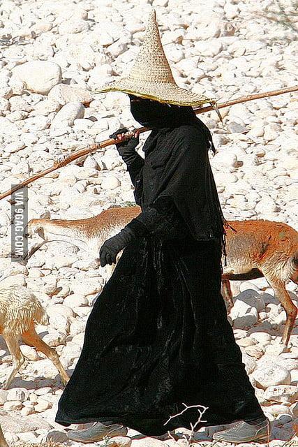 Bad-ass goat herder.