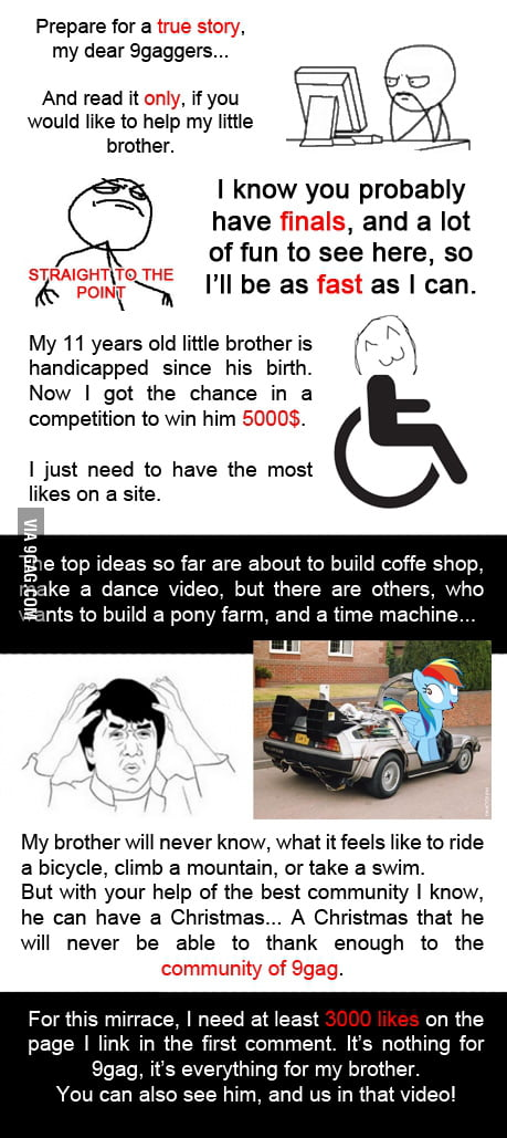 You are truly his hope 9gag