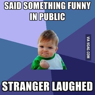 Success in public